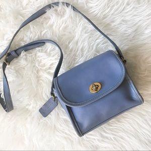 Authentic Vintage Coach Rare Emmie Bag in Blue
